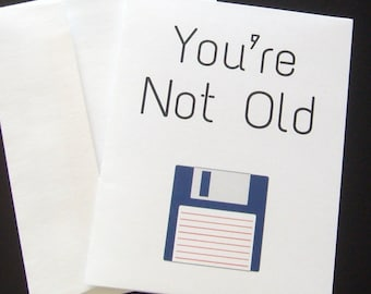 Funny Birthday Card You're Not Old You're Classic Snarky, Sarcastic, Best Seller
