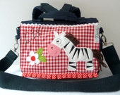 Children School Bags, Childs Backpack, Kids Lunch Bag, Personalized Lunch Bag, Monogrammed School Bag
