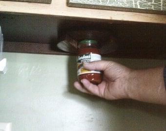Cabinet Mounted Jar Opener