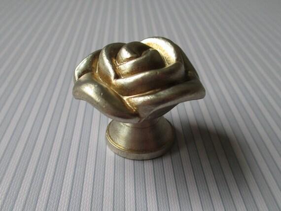 Rustic Rose Dresser Drawer Knobs Pulls Handles Cabinet