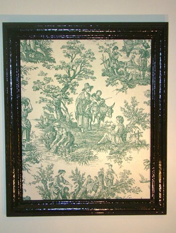 large framed decorative cork board. Black Bedroom Furniture Sets. Home Design Ideas