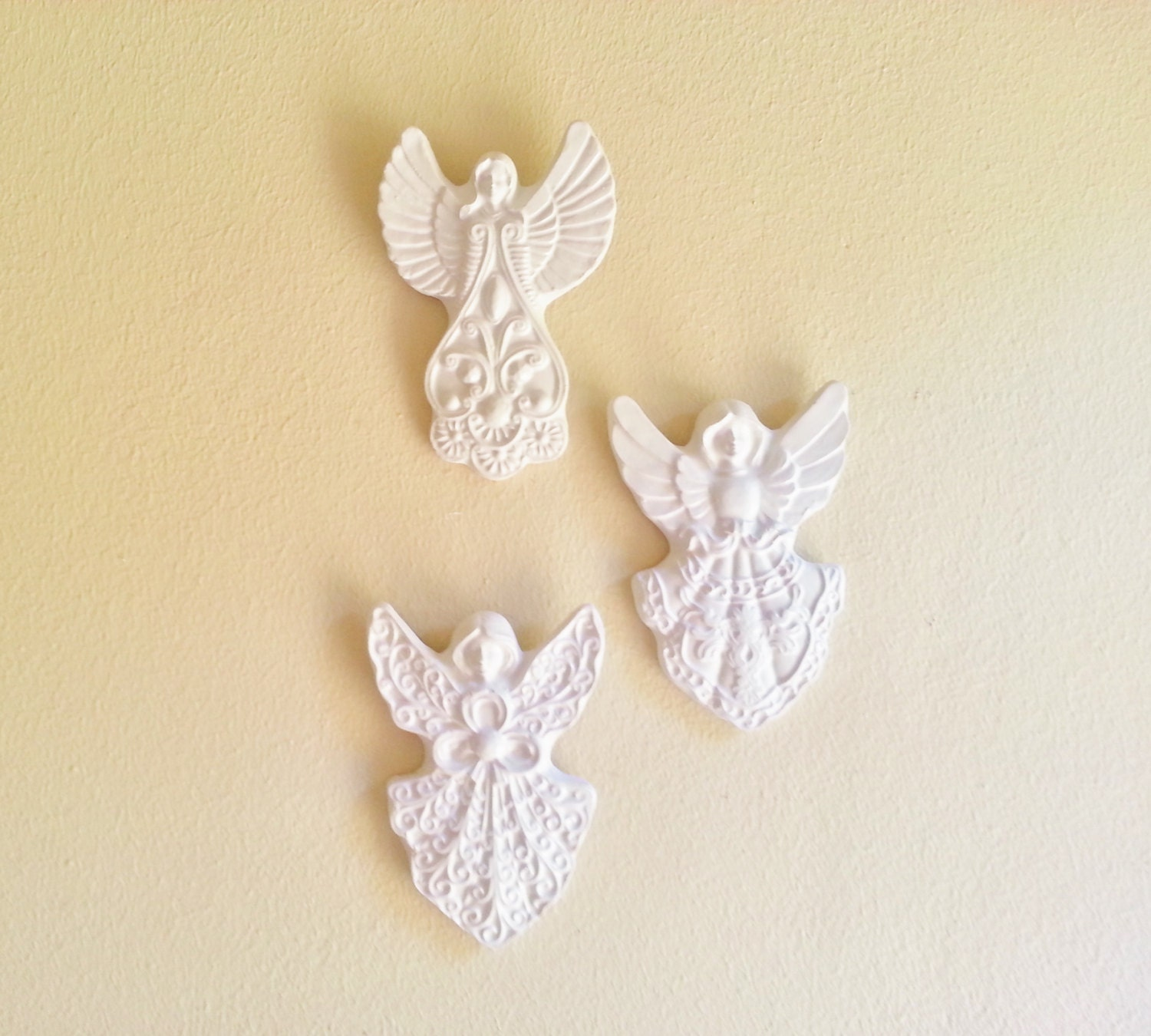 Angel wall sculptures angel wall decor victorian for Angel wall decoration