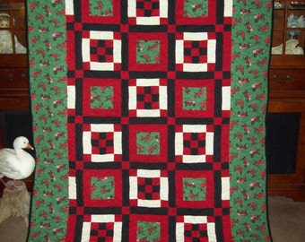 Farmall Tractor Quilt Twin Size
