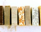 Choose Any 5 Handmade All Natural Soaps