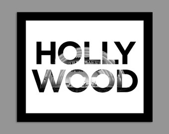 Digital Download Hollywood, California - Hollywood Bowl 8x10 or 11x14