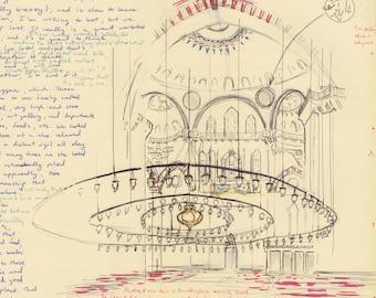 Travel Sketch: Suleyman Mosque