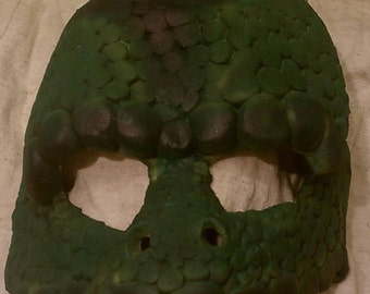 LARP Latex Mask - Lizard