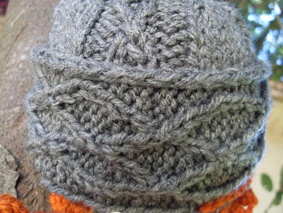 Knitting Pattern For Dwarf Hat : PATTERN Knit Dwarf Hat with Beard -- Preemie, Baby ...