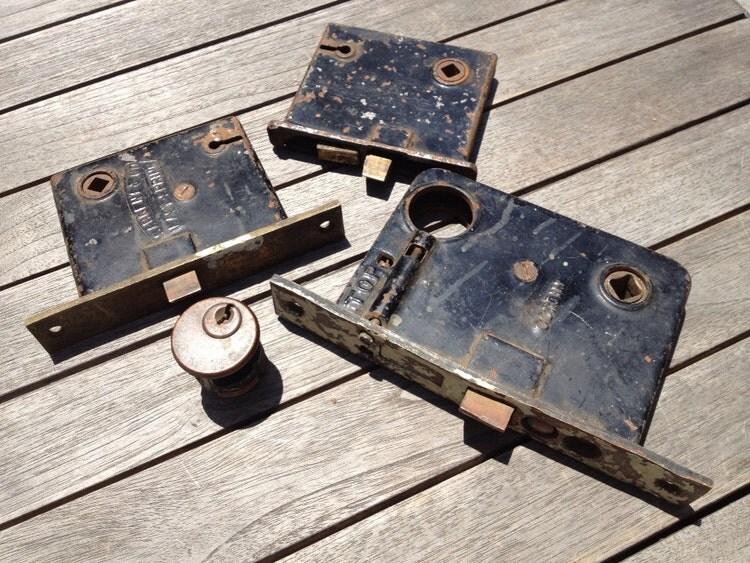 Vintage Sargent Amp Co Lock Easy Spring Door Lock By