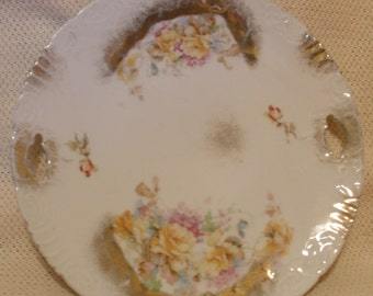 REDUCED PRICE-Staffordshire Cake Plate circa 1910