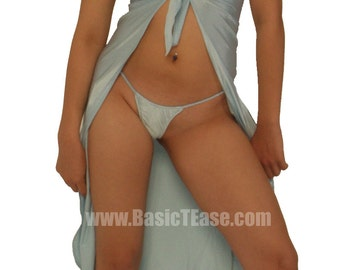 Long Tie Front Stripper Wrap for Exotic Dancers is Perfect for a Cover Up at theClub  Beach or Pool