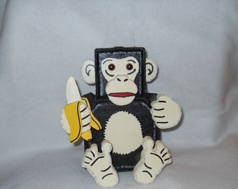 No Monkeying around with this guy. Great addition to your childs room.