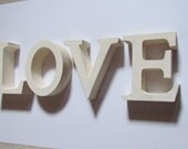 Letters of LOVE handmade