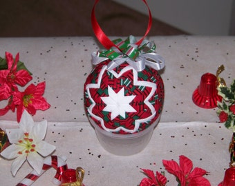 Christmas Quilted Ornament
