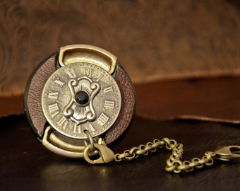 Time Keeper -  Custom Steampunk Lens Cap