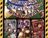 "Wicked ""Wreck-It-Ralph, Fix-It-Felix"" Birthday Party Set - Decorations - Boys - Movie - Theme - Decor"