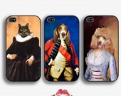 Custom Renaissance Pet Portraits - iPhone 4 Case, iPhone 4s, iPhone 5/5S/5C, 6/6s 6+/6s+ And Samsung Galaxy S3/S4/S5/S6