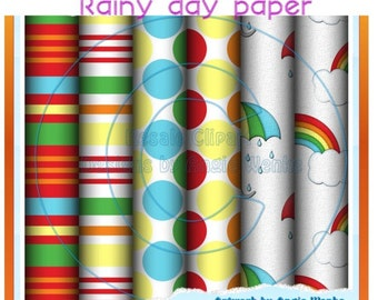 Rainy Day Scrap papers