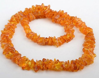 Baltic Amber Adult Necklace - Honey Color