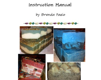 Make your own soaps, bath and body and lip balms - PDF SOAPMAKING EBOOK