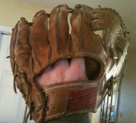 Rawlings Leather Baseball Glove Ken Boyer