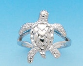 Sterling Silver Turtle ring.