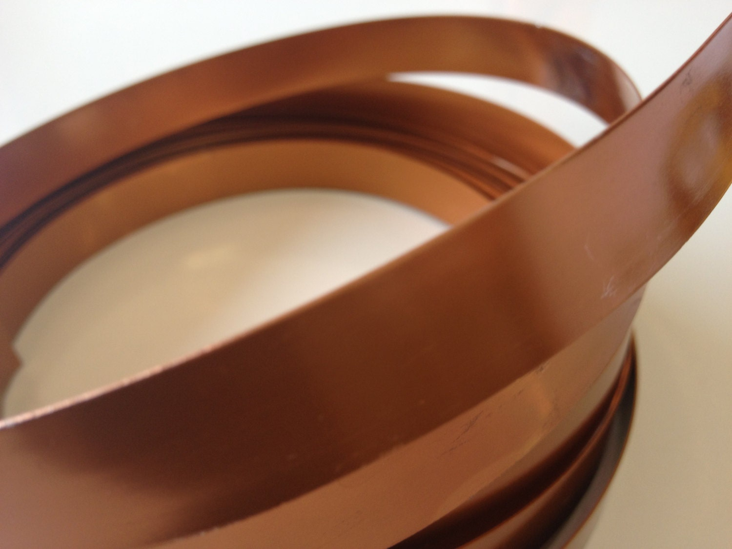 Copper Wire 1 2 Difference : Wide flat copper wire in yd