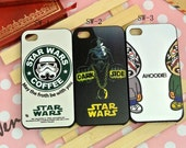 Funny Star War iPhone 4 Case- Star War iPhone 4/4S case - Cute Star War iPhone 4S
