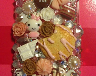 Custom Kawaii Decoden Case iPod Touch 4th Gen