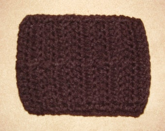 Crochet iPhone/ cell phone case/sleeve - black