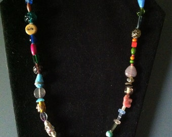 22 Inch Colorful Bead Necklace