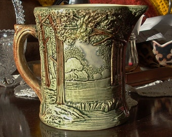 Weller Pottery Forest Pitcher