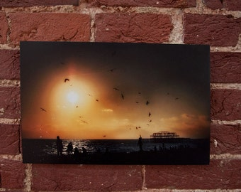 Brighton West pier - Sunset
