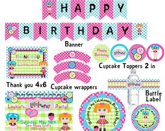 Lalaloopsy Button Clipart