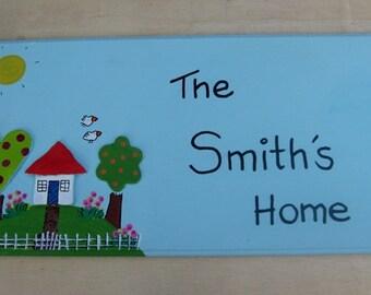 The Cottage Door Sign