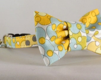Cat Collar and Bow Tie or Flower - Silent Cinema