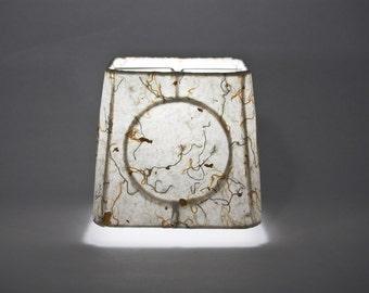 """Custom """"Charleston"""" Handmade Paper Lampshade"""