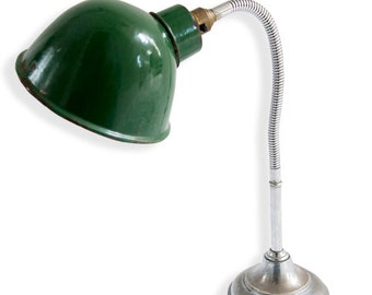 Green Industrial Lamp