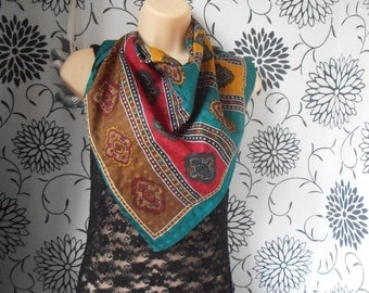 Vintage Headscarf - mixed colours