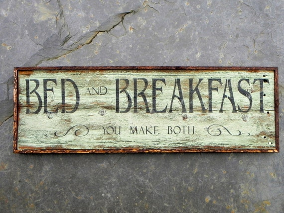 signs Breakfast  wooden Make Signs Bed  Handmade  and   Both kitchen  Kitchen Sign  You rustic