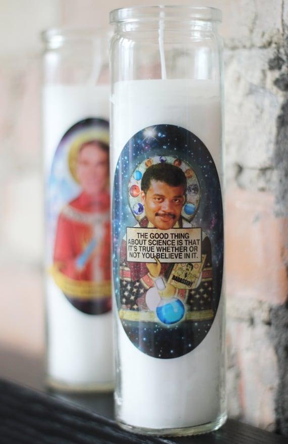 Neil deGrasse Tyson Prayer Candle