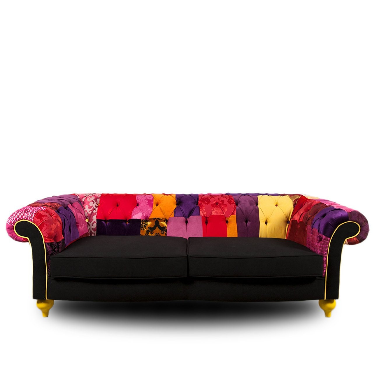 Patchwork 39 chesterfield 39 sofa for Sofa patchwork