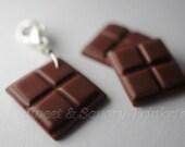 Dark Chocolate Tutorial, Miniature Food Tutorial, Polymer Clay Food Tutorial by Sweetnsavorytrinkets