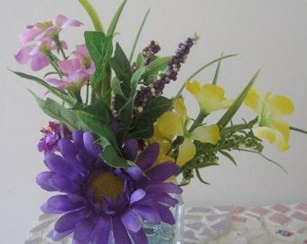 Beautiful Silk Flower Arrangement