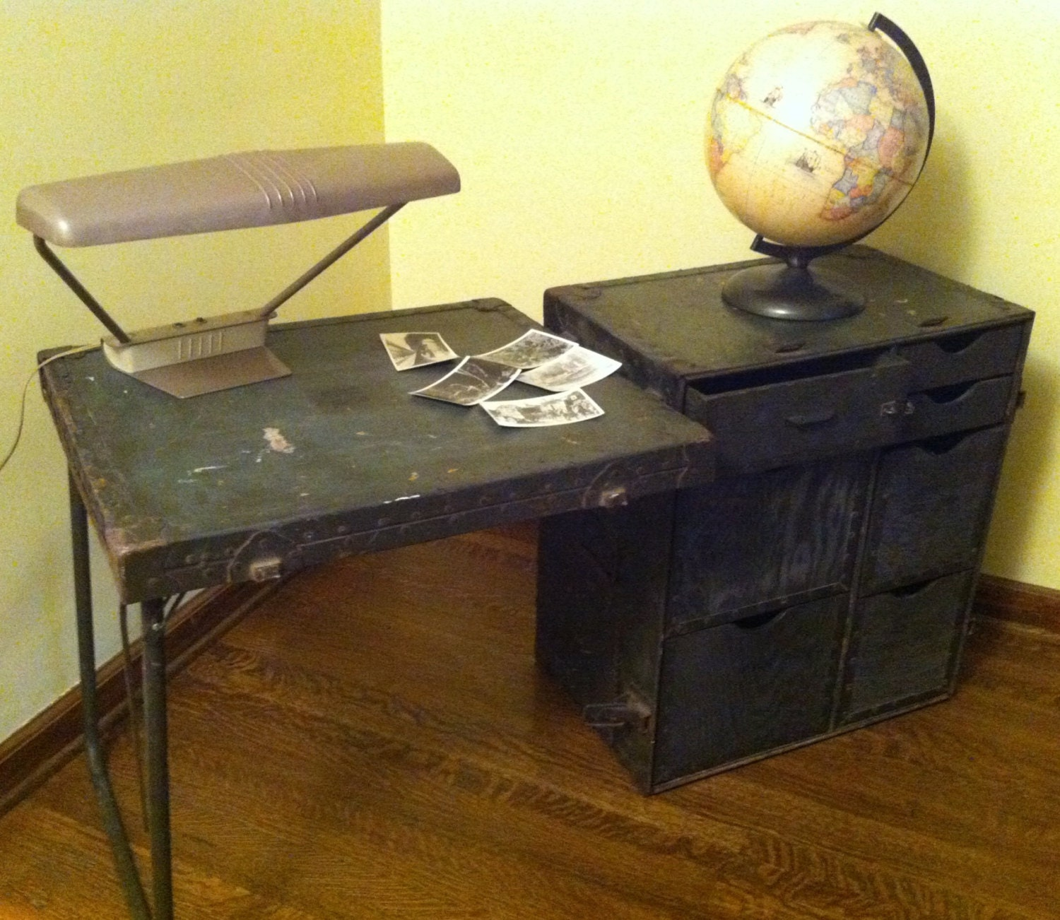 WWII Army Field Desk