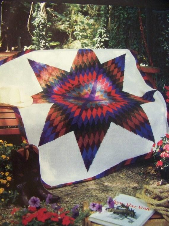 Big Texas Star Crochet Afghan Pattern