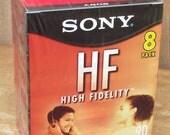 Sony HF Cassette Tape 8 Pack