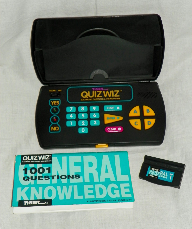 Vintage 1993 Tiger Quiz Wiz