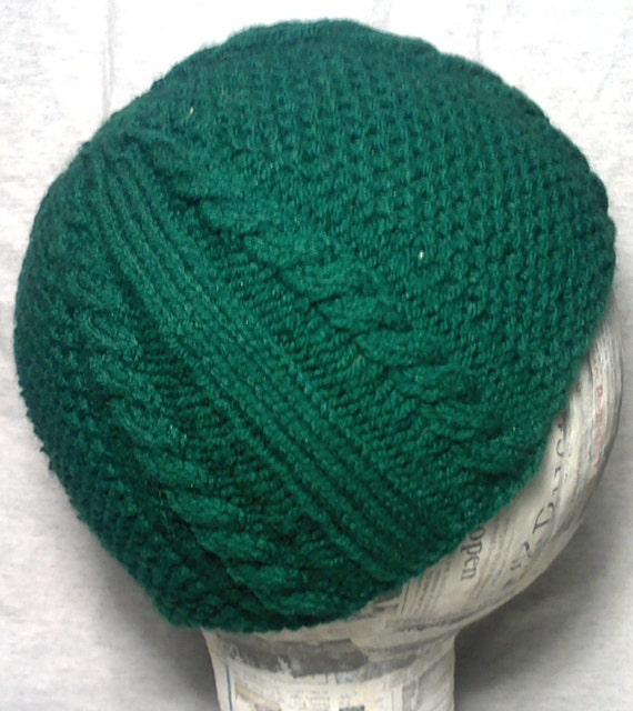 Items similar to 3rd Seed Stitch Cable Knit Hat PATTERN - Instant Download on...