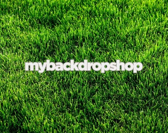 2ft x 2ft Grass Photo Background - Outdoors Photography Backdrop for Product Shots - Item 106